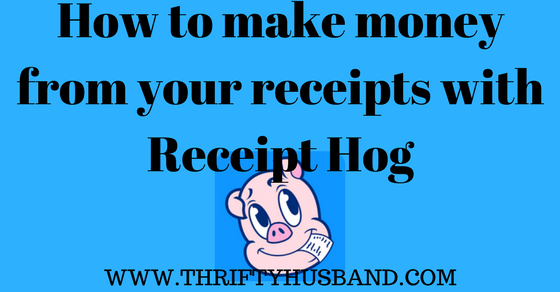 How to make money from your receipts with Receipt Hog