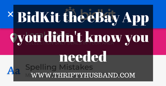 BidKit the eBay App you didn't know you needed