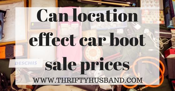 Can location effect car boot prices?