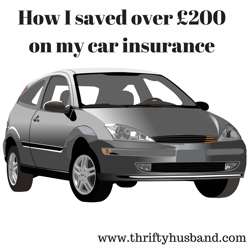 How I saved over £200 on my Car Insurance