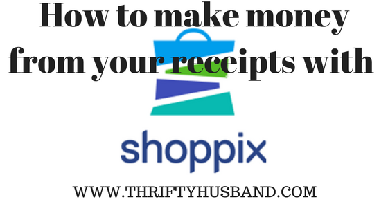 How to make money from your receipts with Shoppix