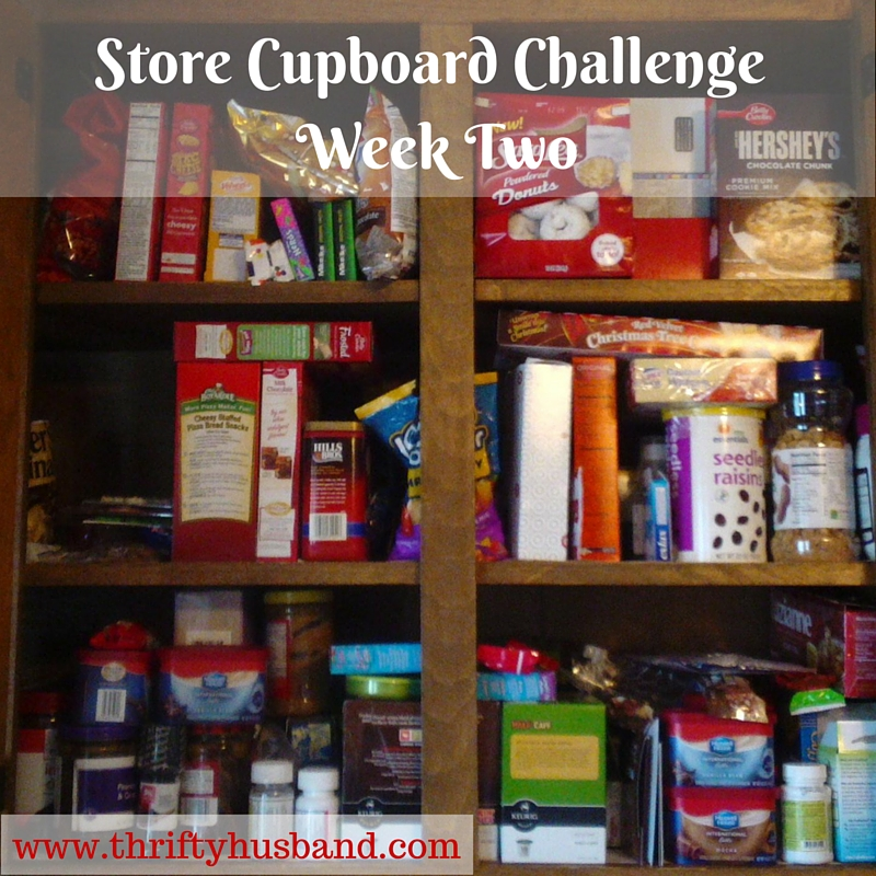Store Cupboard Challenge Week Two