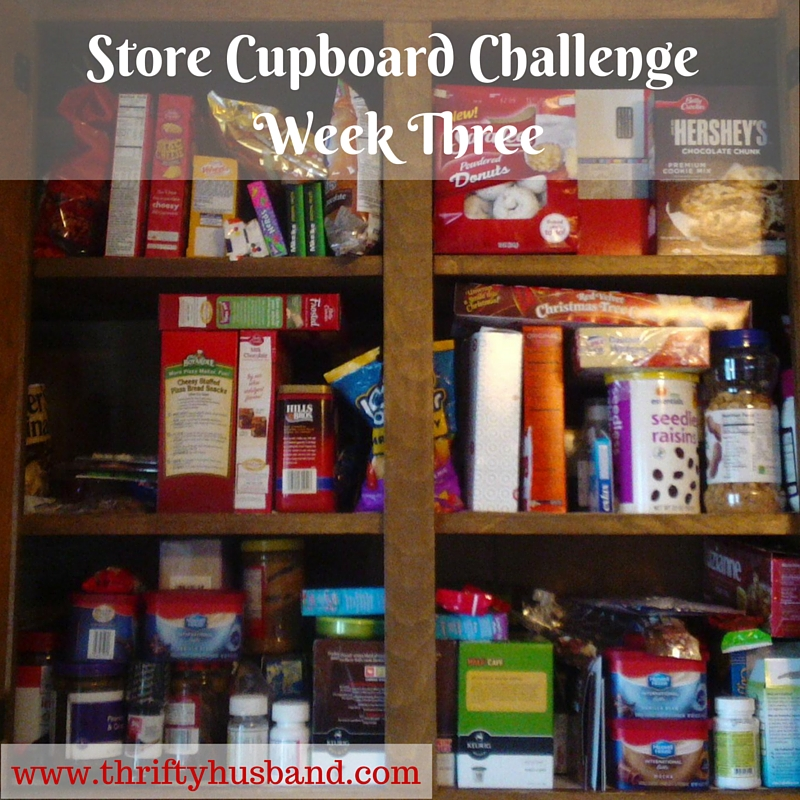 Store Cupboard Challenge Week Three