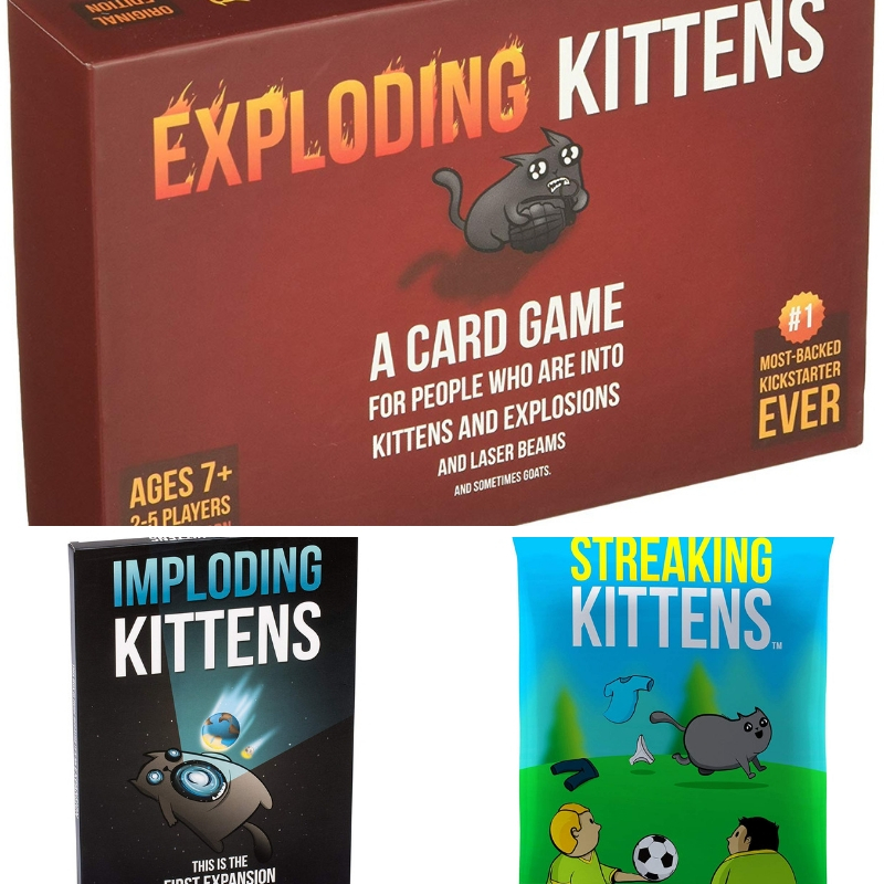 Exploding Kittens cat lady gifts